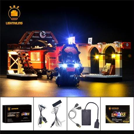 レゴ 75955 ハリーポッター ホグワーツ特急 ライトアップセット [LED ライト キット+バッテリーボックス]
