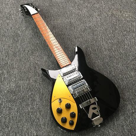 【ケース付】レフティ リッケンバッカー スタイル スリーピックアップ タイプ エレキギター 左用 扱いやすい rickenbacker カスタム 左手 左利き