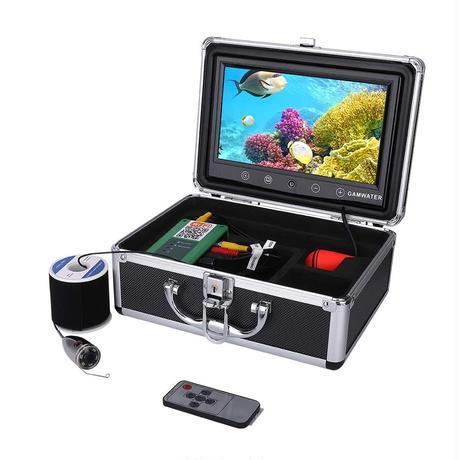 wifi ステンレス 水中カメラ 白色LED6灯 10インチモニター  釣りカメラ 20mケーブル GAMWATER