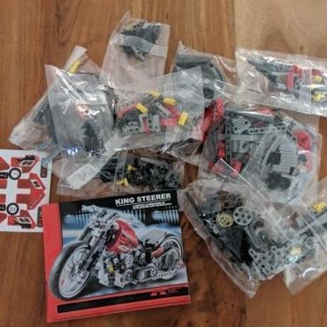 レゴ テクニック 互換品 モーターバイク