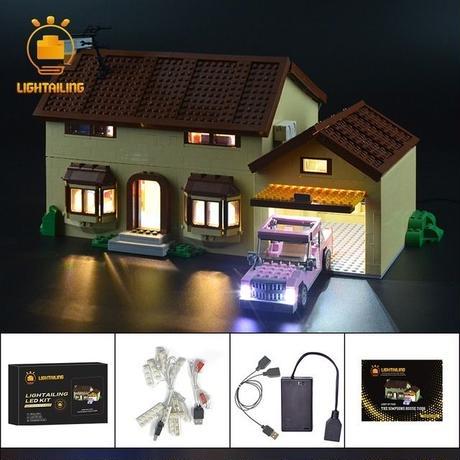 レゴ 71006 シンプソンズハウス ライトアップセット [LEDライトキット+バッテリーボックス]