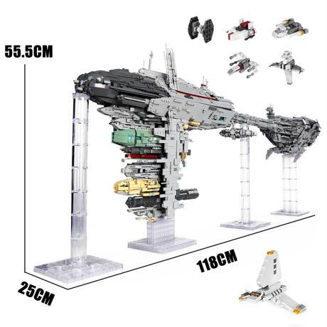 レゴ 互換品 6388ピース ネビュロン B デザイン メディカルフリゲート ブロック クリスマス プレゼント スターウォーズ 宇宙船 おもちゃ ブロック 互換品 知育玩具 入学 お祝い こどもの日