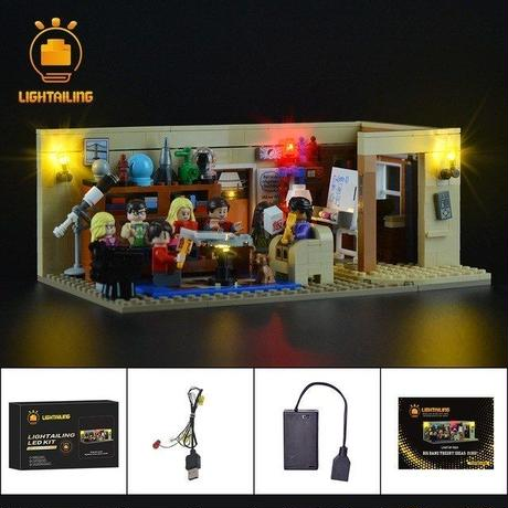 レゴ 21302 ビッグバン・セオリー ライトアップセット [LED ライト キット+バッテリーボックス]