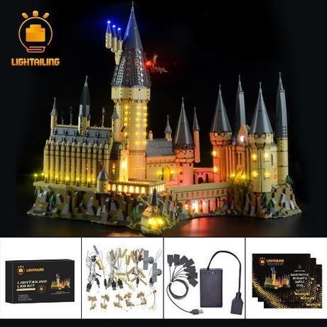 レゴ 71043 ハリーポッター 新ホグワーツ城 ライトアップセット [アップグレードLEDライト+バッテリーボックス]