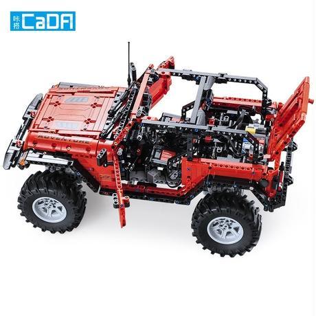 レゴ テクニック 互換品 アドベンチャージープ オフロード車 モーターセット