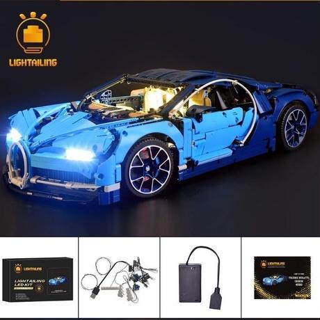 レゴ 42083 ブガッティ・シロン ライトアップセット [LED ライト キット+バッテリーボックス]