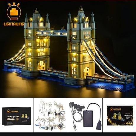 レゴ 10214 ロンドン タワー ブリッジ ライトアップセット [LED ライト キット+バッテリーボックス]