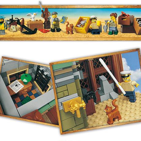 レゴ 21310 レトロなつり具屋 互換品 アイデア