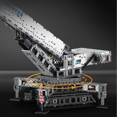 ラジコン レゴ 互換品 クローラークレーン モデル 11220 モーターセット RC リモート テクニック プレゼント クリスマス 車両 工事 重機 おもちゃ ブロック 互換 知育玩具