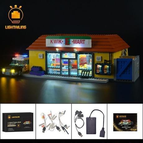 レゴ  71016 シンプソンズ クイックEマート ライトアップセット [LEDライトキット+バッテリーボックス]