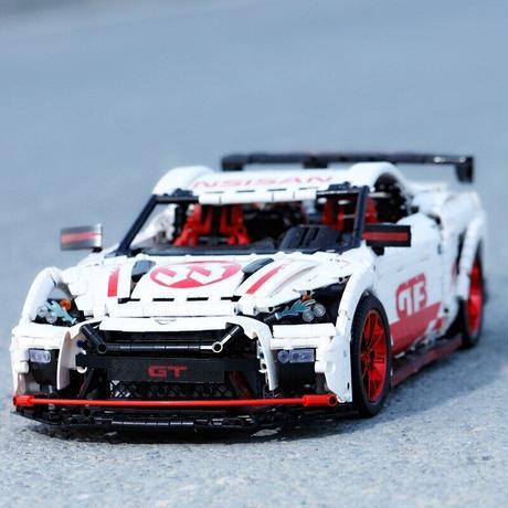 レゴ テクニック 互換品 GTR GT3タイプ モーターセット レーシングカー スーパーカー クリスマス プレゼント