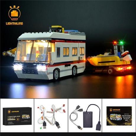 レゴ 31052 キャンピングカー ライトアップセット [LED ライト キット+バッテリーボックス]