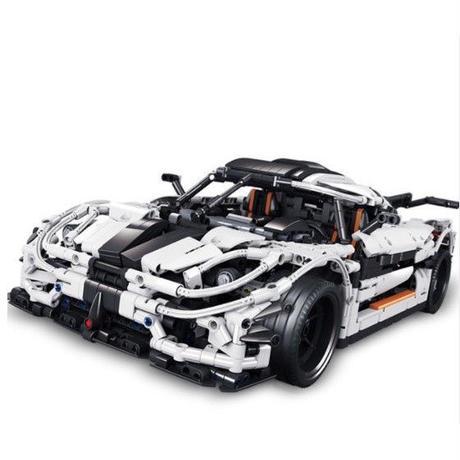 レゴ 互換品 ケーニセグワン テクニック MOC スーパーカー スポーツカー 乗り物 車 ブロック Koenigsegg One:1