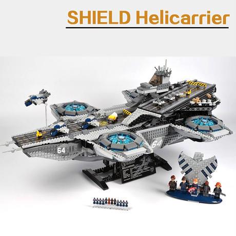 レゴ 76042  アベンジャーズ マーベル スーパーヒーローズ ザ・シールド ヘリキャリア 互換品