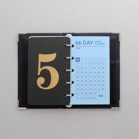 習慣をつくる66日リフィル micro5[単色]