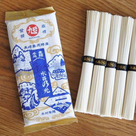 香り高い「大吟 青」×島原そうめん「水晶の光」2袋(10束)セット