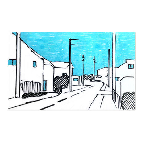 Town 1 (Drawing)