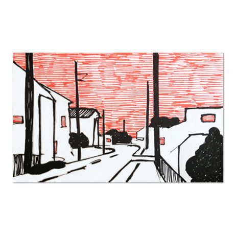 Town 2 (Drawing)