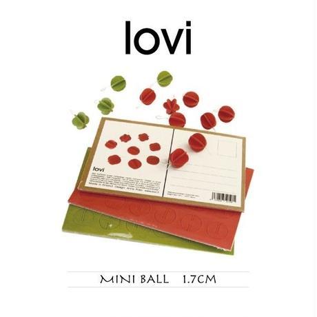 【ポストカード】 lovi(ロヴィ) ミニ ボール 1.7cm