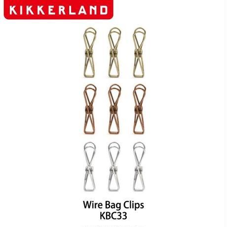 【クリップ】 キッカーランド ワイヤー バッグ クリップ KBC33
