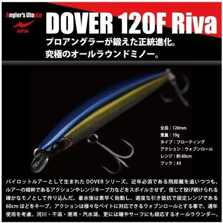 大特価 ! 【ルアー】 アピア ドーバー 120F  Riva
