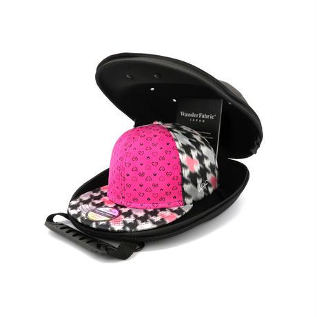 tr@dinion Lady's cap ゆたか 印伝 ふじやま織 サイズフリー 産学連携 サスティナブルアイテム