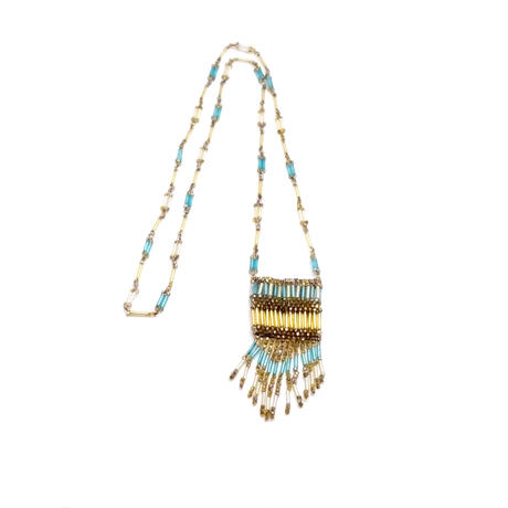 Glass Beads Necklace(NE0969)
