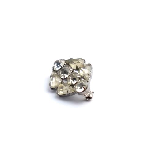 ラインストーンの小さなブローチ(BR0916)