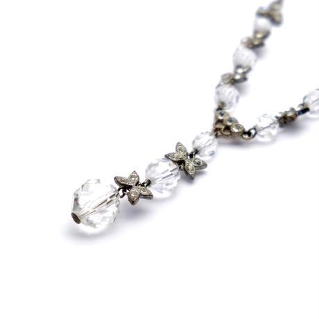 Crystal Glass Necklace(NE0965)