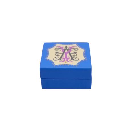 KANESEI× funana別注カラー 丁番ブルー アルファベットの小箱