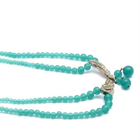 French Glass Necklace(NE1148)