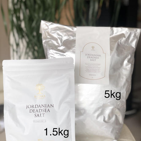 BARAKA ジョルダニアン デッドシーソルト 1.5kg  詰め替え レフィル