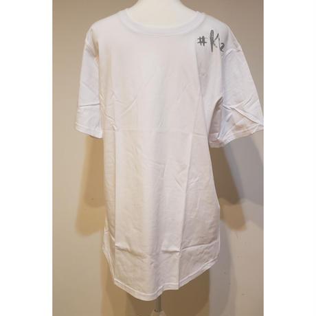 キゾンバT メンズロングTシャツ  ホワイト