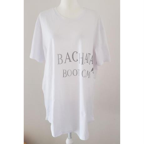 Bachata BOOTCAMP ロング丈Tシャツ 男女兼用サイズ