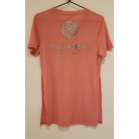 【ファニT】レディース両サイドスリットTシャツ