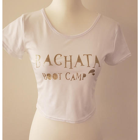 Bachata BOOTCAMP ショート丈Tシャツ ladies