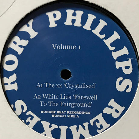 Rory Phillips - Remixes Volume #1 [12][Hungry Beat Recordings]