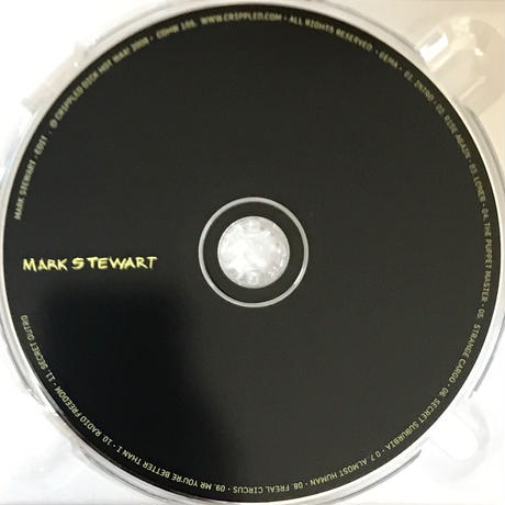 Mark Stewart - Edit [CD]