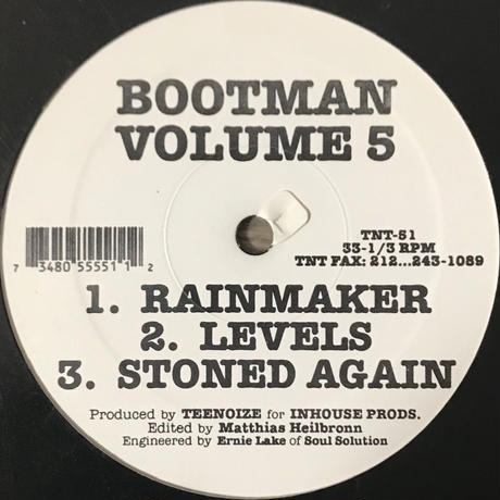 Bootman - Volume 5 [12][TNT Records]