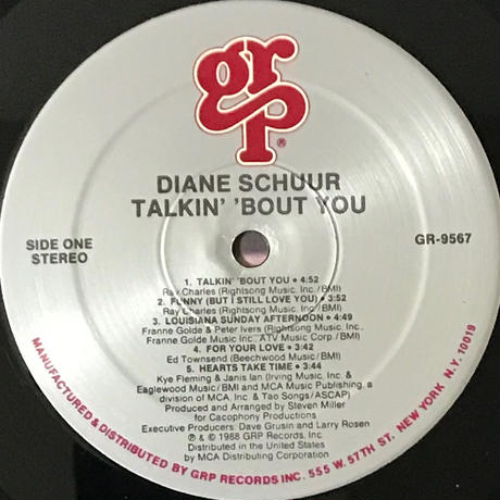 Diane Schuur - Talkin' 'Bout You [LP][GRP]