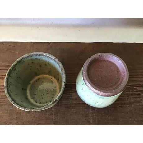 藁灰 蕎麦猪口/工房つちみ