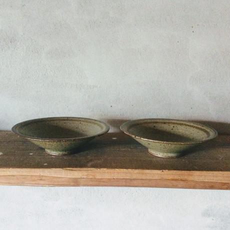 線引  6寸鉢  / 廣川 温
