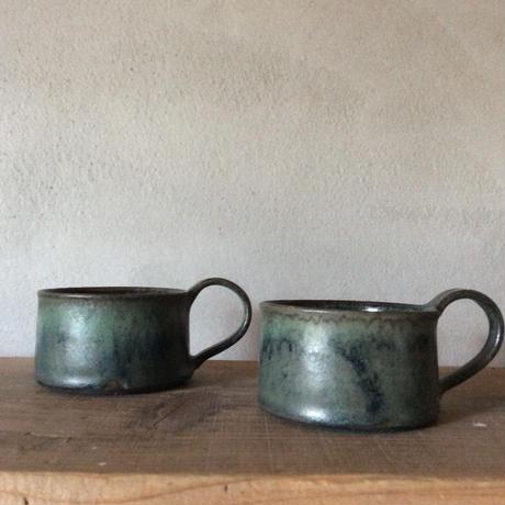 コバルト釉 マグカップ/平野日奈子