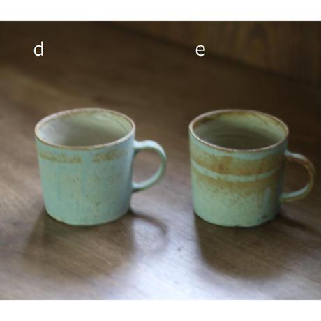 マグカップ L 薄水色/ 茨木伸恵
