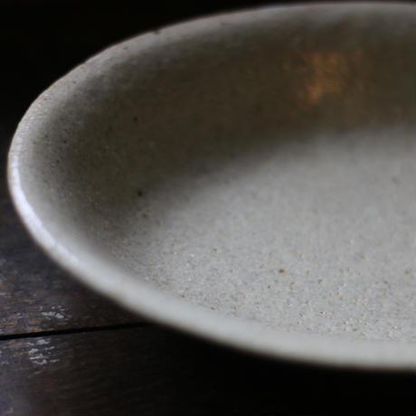 粉引オーバル鉢/及川静香