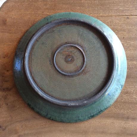 8寸平皿 コバルト結晶/  平野日奈子