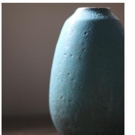 花器 赤土トルコ/飯高幸作