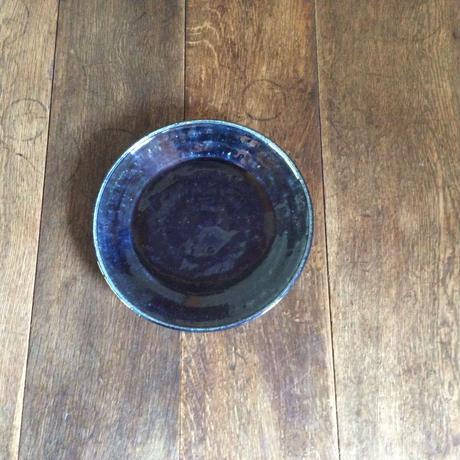 瑠璃釉 22cm