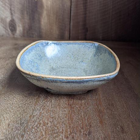 結晶青釉薬 角鉢/及川静香
