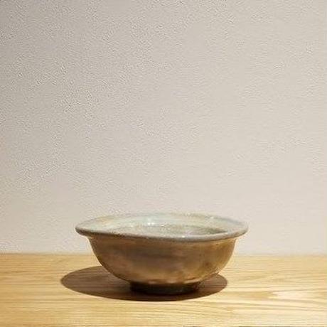 取り鉢赤葉 小 「作家 奥田美恵子」 (No.1)